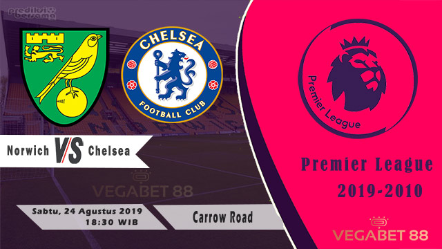 Prediksi Norwich City vs Chelsea, Premier League 2019-20