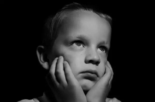 photo of sad boy