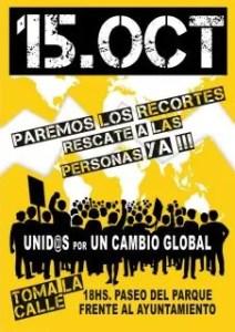 #15O tomemos las calles