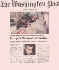 Linex en Washington Post