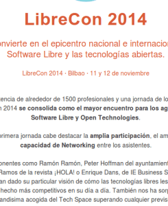 Software Libre empresas