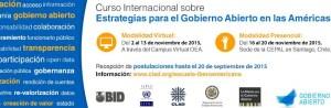 Curso Gobierno Abierto OEA CEPAL