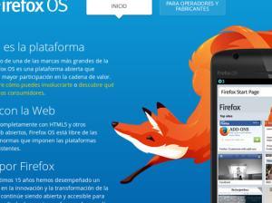 Firefox OS el sistema operativo móvil