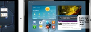 Comparativa Motorola Xoom vs Samsung Galaxy Tab