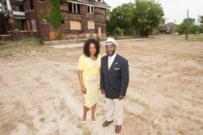 Ray Johnson and Katrina Lockhart