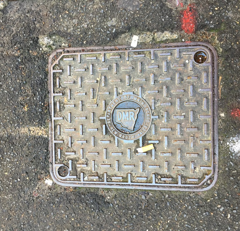 Sydney Drain and Manhole Covers / Red Wolf