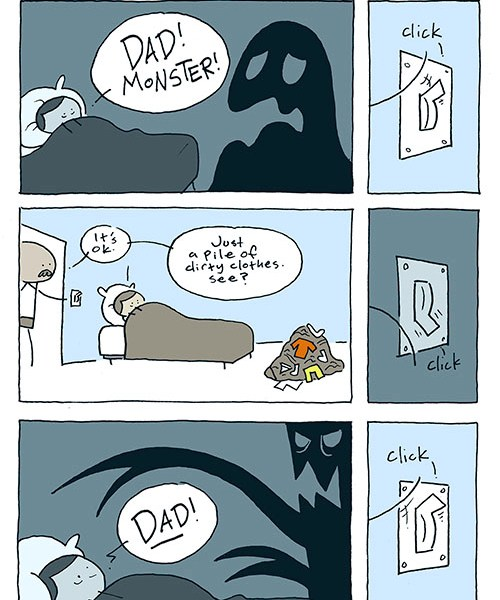 Dad! Monster! / John McNamee