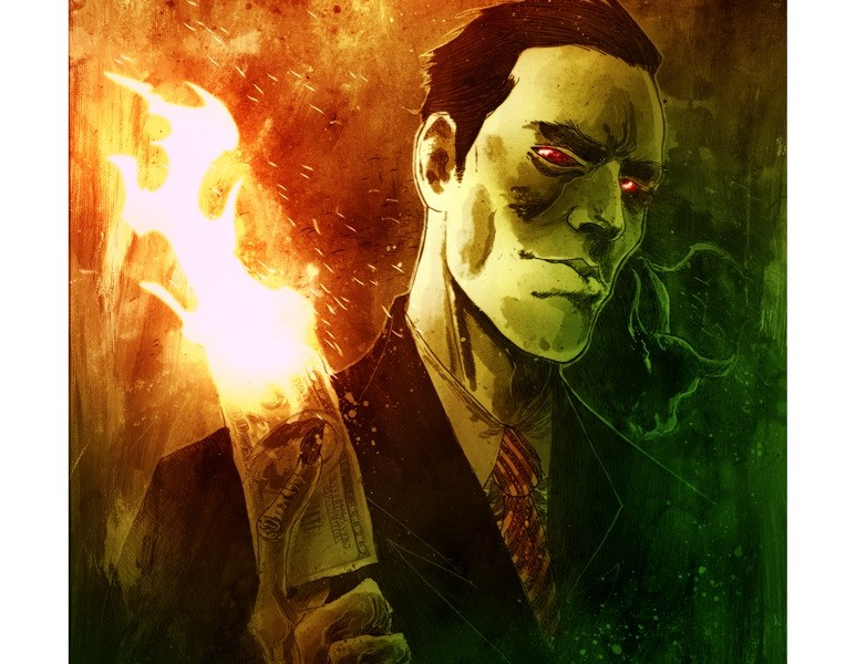 The Four Businessmen of the Apocalypse / Ben Templesmith