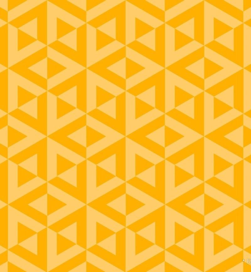 Geometric Pattern: Cube Split / Red Wolf