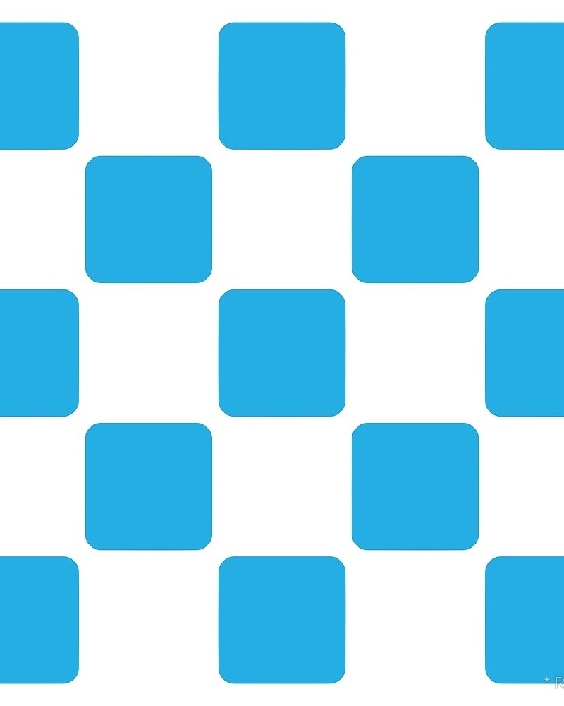 Geometric Pattern: Rounded Weave: White/Colour