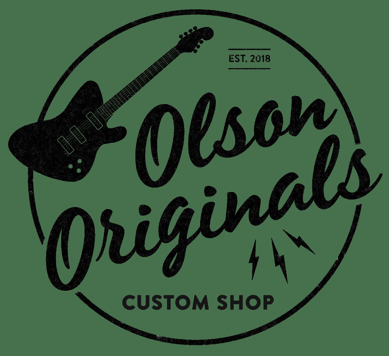 Olson Originals Custom Deluxe Sonic Blue