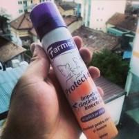 Spray repelent de țânțari și insecte de la Farmec