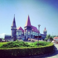 La Castelul Corvinilor, la #vizitainhd . Castelul Corvinilor