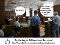 Susțin Legea Falimentului Personal - Volksbank pierde în instanță