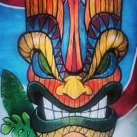 Zeu păgân din mitologia polineziană, specific culturii tiki