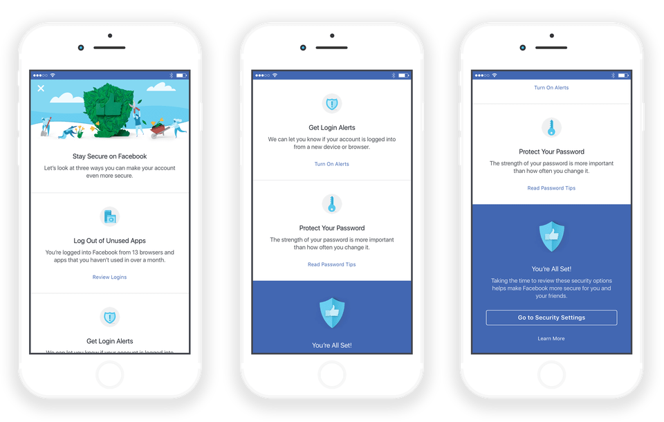 Facebook October Cyber Security Awareness Month Overview