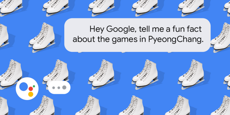 Google Assistan PyeongChang Olympic Winter Games 2018 - Hero