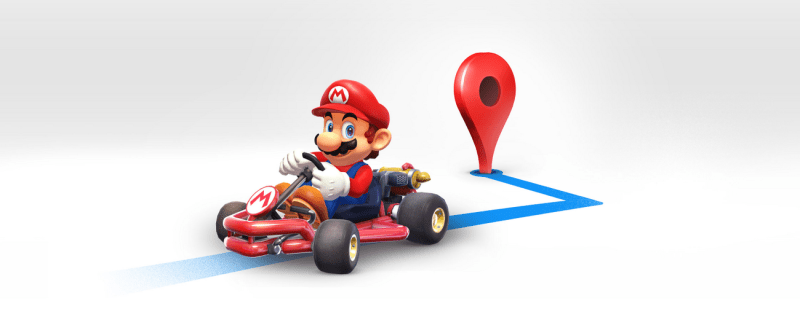 Mario Google Maps - Hero