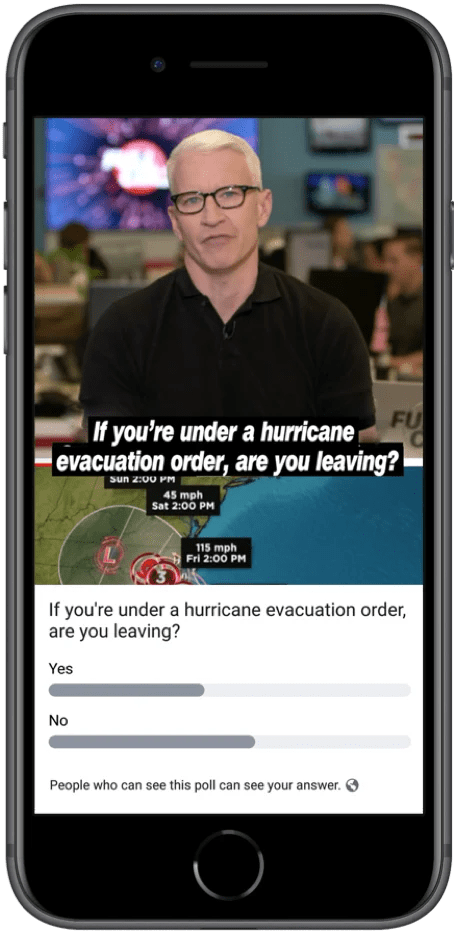 Facebook Video Polls Rollsout to more Pages