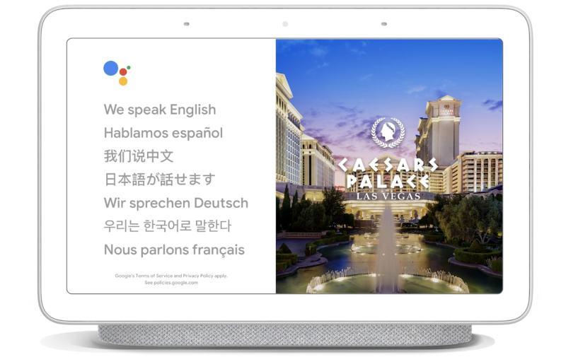 Google Assistant Interpreter Mode