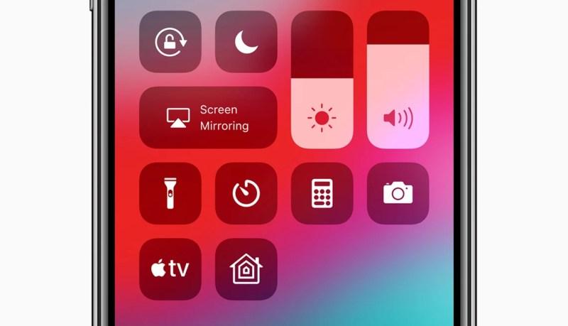 Apple TV 4K Control Center Widget