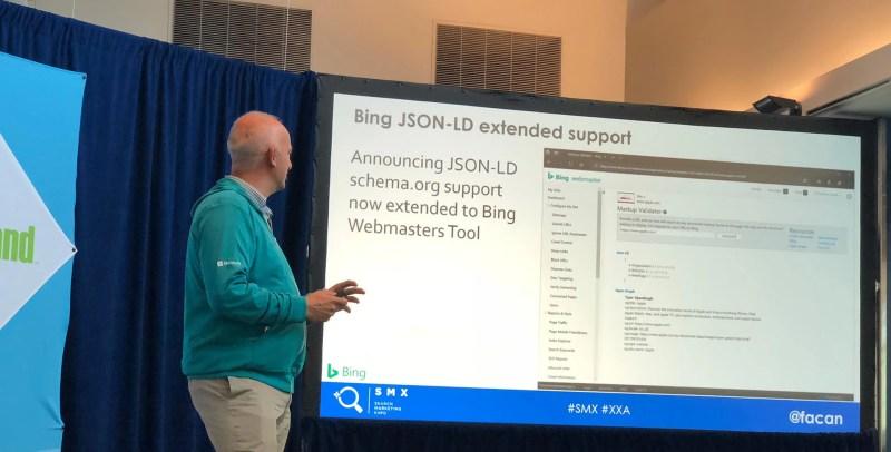 Bing Webmaster JSON-LD Support