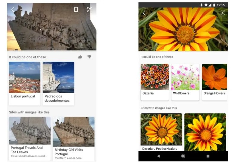 Snap and Search Using Bing Visual Search Capabilities