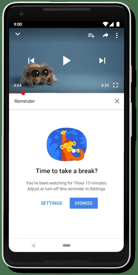 YouTube Break Reminder