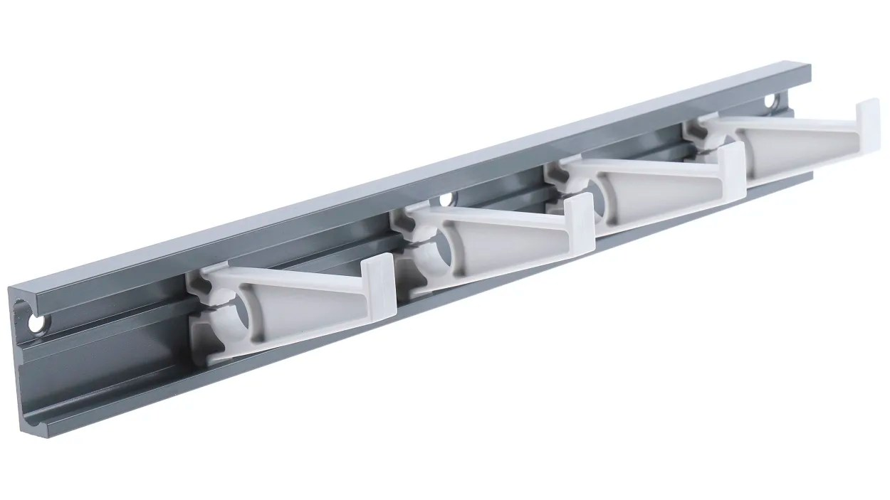 rs pro grey modular lead storage rack 15 slots 16 9mm cable dia