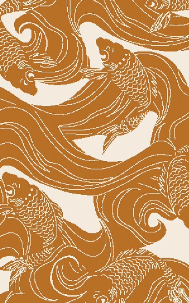 Surya Rain Rai 1253 Burnt Orange Clearance Rug Studio