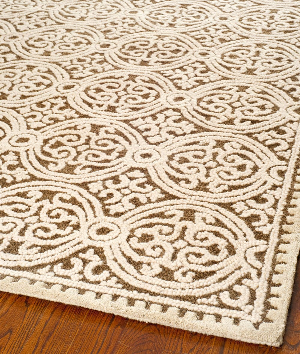 Safavieh Cambridge Cam232a Brown White Area Rug Clearance 61185