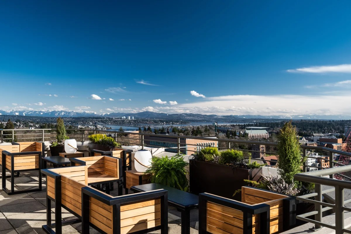 Why Yes, There Is a New Rooftop Bar in the U District ... on Backyard Bar With Roof id=54153