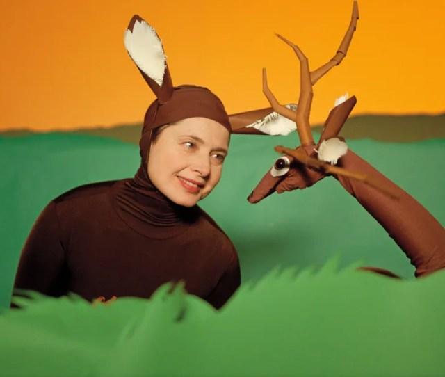 Isabella Rossellini Deer Amehnd