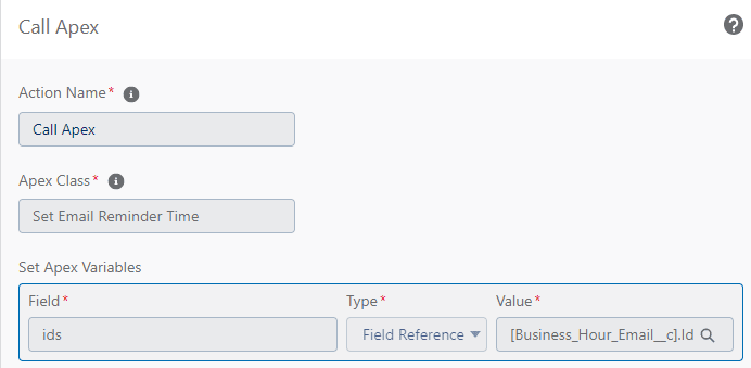 Call Invocable method from Process builder
