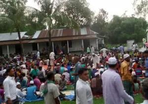 মুক্তাগাছা মানকোন ইউনিয়ন বিএনপির ইফতার মাহফিল