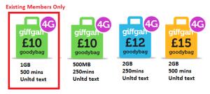 giffgaff 4G