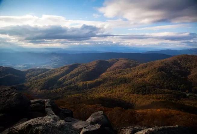 Winter Blue Ridge Mountains Va