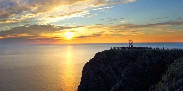 Resultado de imagen para noches blancas cabo norte, noruega