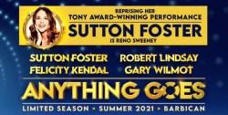 Anything Goes la comédie musicale avec Sutton Foster à Londres en juillet 2021
