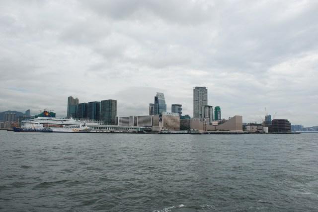 Vu du ferry que j'ai pris pour traverser