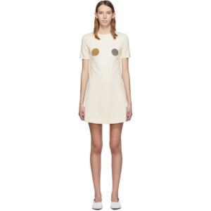 Rudi Gernreich Off-White Pin Dress