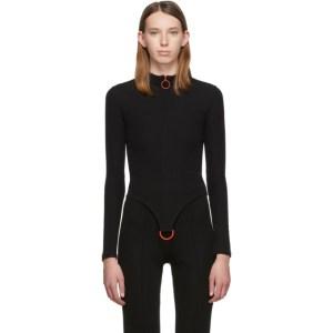 Rudi Gernreich Black D-Ring Sweater