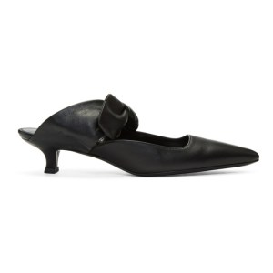 The Row Black Coco Mules