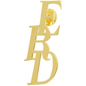 Enfants Riches Deprimes Gold Logo Pin