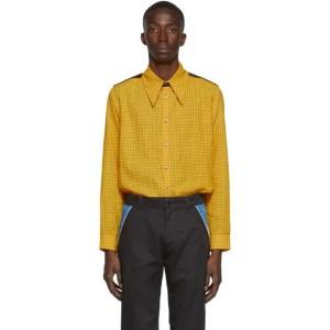 St-Henri SSENSE Exclusive Yellow Woody Shirt