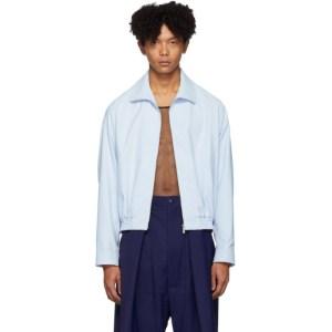 Random Identities Blue Zip-Up Jacket