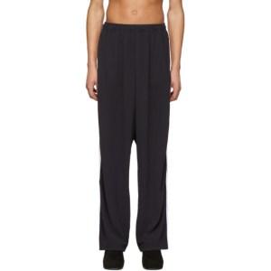 Random Identities Black 2-Stripe Lounge Pants