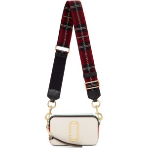 Marc Jacobs Off-White Small Snapshot Bag