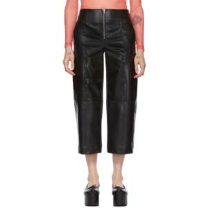 Supriya Lele Black Natural Rubber Trousers