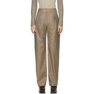 Materiel Tbilisi Beige Straight Trousers